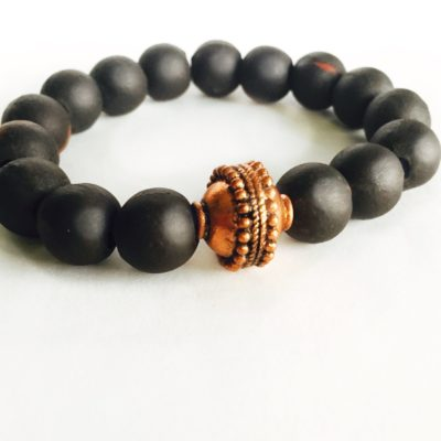 Clay Bead Stretch Bracelet