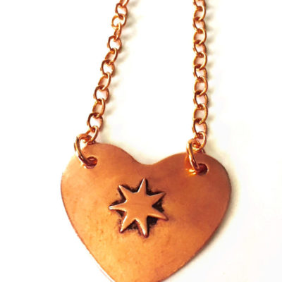Cherokee Heart Necklace