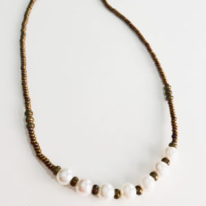 Seven Pearl Necklace