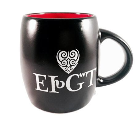 Ceramic Mug-I Love You- Black