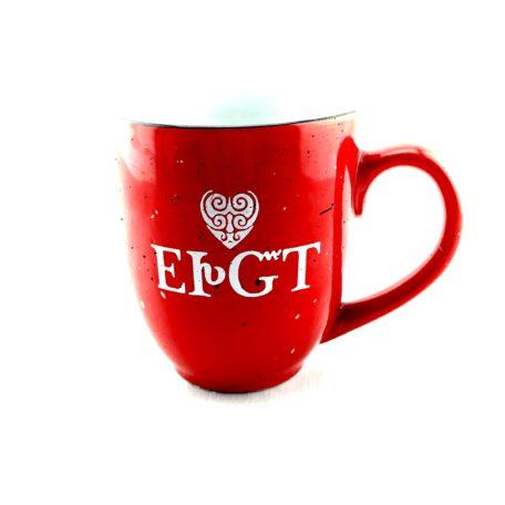 Ceramic Mug Cherokee I Love You Red