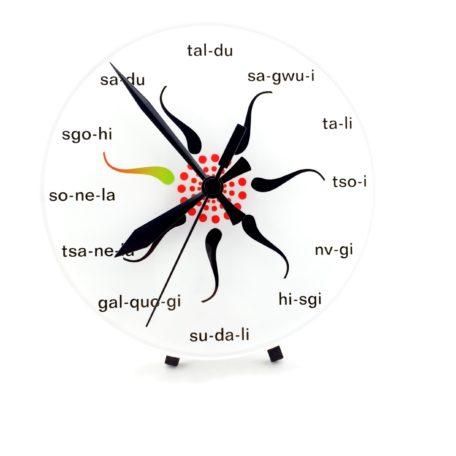 Acrylic Seven Star Clock