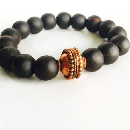 Clay Bead Stretch Bracelet