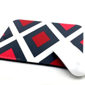 Red Diamond Mouse Pad