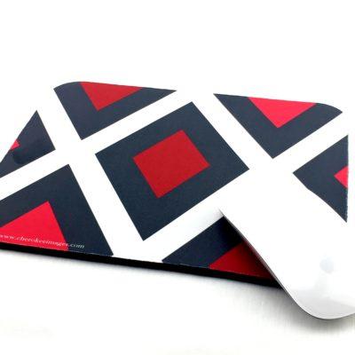 Red Diamond Mouse Pad