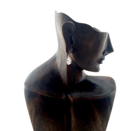 Trail of Tears Crystal Earrings