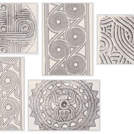 Pottery Designs Card Set
