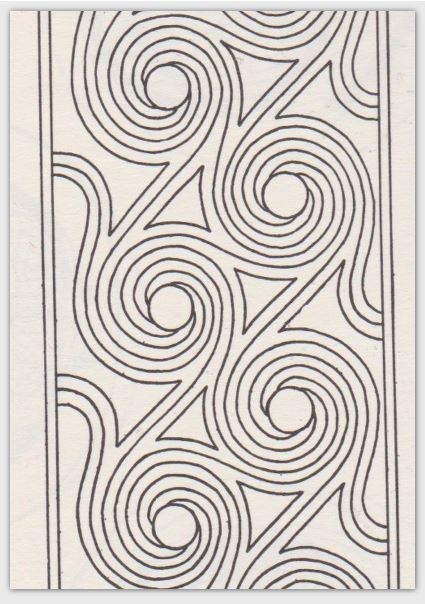 Pottery Design Card Set Stomp Dance Swirl