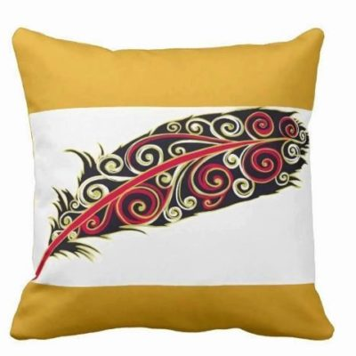 Pillow Swirl Feather